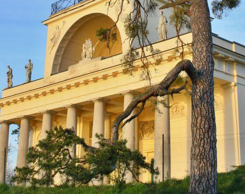 Apollonův chám v Lednicko-valtickém areálu