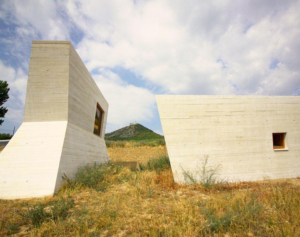 Archeopark Pavlov - stavby nad zemí