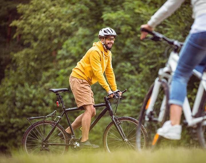 Na kole okolo Břeclavi